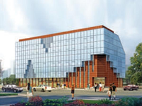 神木县老年活动中心建筑设计方案