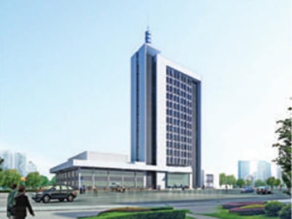 邢台市广播电视台办公大楼